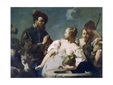 Rebecca at Well Giclee Print by Giovanni Battista Piazzetta