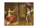 Allegory of Painting Giclee Print by Charles Alphonse Dufresnoy