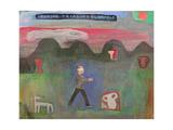 Seeking Treasure Blindfold, 1999 Giclee Print by Albert Herbert