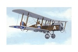Dh9A Light Bomber Giclee Print by John Keay