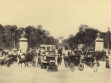 Avenue Des Champs-Elysees Photographic Print
