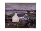 Farmsteading, Iona, Auchabhaich Croft Giclee Print by Francis Campbell Boileau Cadell