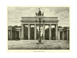 The Brandenburg Gate Giclee Print