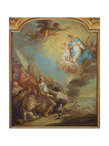 Study for Louis XIII Giclee Print by Carle van Loo