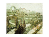 Morningside Heights Giclee Print by Ernest Lawson