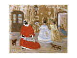 House Recommendations to the Slave Queen, 1932 Giclee Print by Pedro Figari