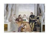 Merenda Giclee Print by Giovanni Antonio Fasolo