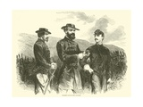 Mcpherson and His Chief Engineers, May 1863 Giclee Print