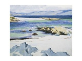 The Sound of Mull from Iona, C.1932 Giclee Print by Francis Campbell Boileau Cadell