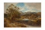 On the Llygwy, North Wales Giclee Print by Benjamin Williams Leader