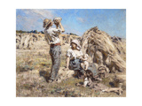 Maternity Giclee Print by Leon Augustin Lhermitte