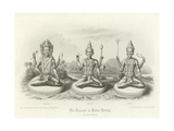The Trimurti or Hindu Trinity Giclee Print