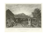 Castle of Johannesberg Giclee Print by William Tombleson