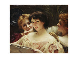 Forbidden Fruit Giclee Print by Thomas Benjamin Kennington