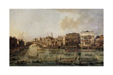 Regatta on the Grand Canal Giclee Print by Francesco Guardi
