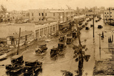 Flooded Miami Street after the Hurricane, 1926 Photographic Print