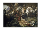Reconquest of Buda Castle,1686 Giclee Print by Gyula Benczur