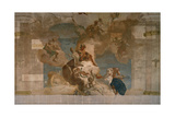 Phaethn Asks for Apollo's Cart, 1719 - 1720 Giclee Print by Giovanni Battista Tiepolo