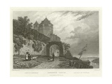 Rheineck Castle Giclee Print by William Tombleson