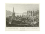 Bacharach and St Werner's Chapel Giclee Print by William Tombleson