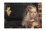 The Family of Philip IV - Maids of Honor Giclee Print by Diego Rodriguez de Silva y Velazquez