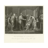 The Banishment of Cleombrotus Giclee Print by Benjamin West