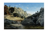 Memories of Ollioules Gorge, 1861 Giclee Print by Paul Camille Guigou