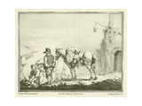 Traveller with a Horse Giclee Print by Philips Wouwerman