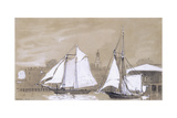 Two Schooners, 1880 Giclee Print by Winslow Homer