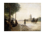 The Champs Elysees, Paris Giclee Print by Victor Gabriel Gilbert