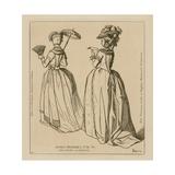 French Women, 1778-79 Giclee-trykk av Raphael Jacquemin