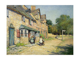 Cotswold Village, 1917 Giclee Print by William Kay Blacklock