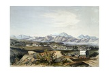Boer Settlement Giclee Print by George French Angas