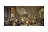 Fall of Carthage Giclee Print by Luigi Ademollo