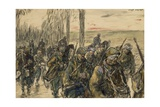 Somme Front, 1916 Giclee Print by Jean-louis Lefort