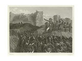 Last Assault of Saint-Jean D'Acre Giclee Print by Denis Auguste Marie Raffet