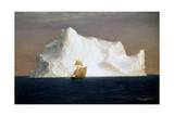 Iceberg, 1891 Giclee Print by Frederick Edwin Church