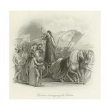 Boadicea Haranguing the Britons Giclee Print
