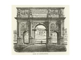 Arch of Constantine Giclee Print