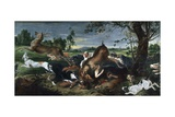 Hunting Deer Giclee Print by Frans Snyders
