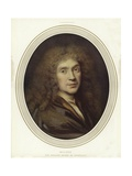 Moliere, French Playwright Giclee Print by Pierre Mignard