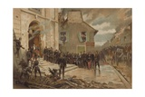 Le Bourget, 30 October 1870 Giclee Print by Alphonse Marie de Neuville
