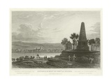 Neuweid and Monument of General La Hoche Giclee Print by William Tombleson