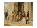 A Local Scene, 1888 Giclee Print by Victor Patricio Landaluce