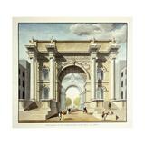 L'Arc De Triomphe, 1806 Giclee Print