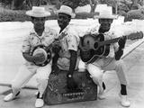 Calypso Band Members, C.1965 Photographic Print