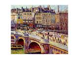 Le Quai Conti, Paris, 1896 Giclee Print by Maximilien Luce
