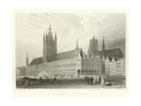 Town Hall, Ypres Giclee Print by Alphonse Marie de Neuville