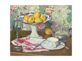 Still Life with a Fruit Dish, 1905 Giclee Print by Georges Daniel De Monfreid