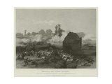 Battle of Long Island, 1776 Giclee Print by Alonzo Chappel